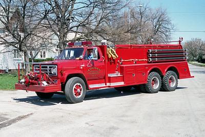 AUBURN FPD  TANKER 1  1983  GMC - TOWERS   750-2000