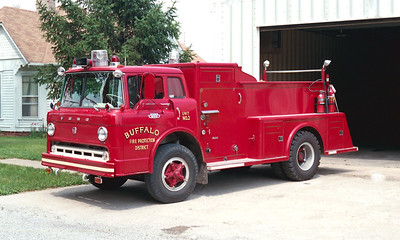 BUFFALO  ENGINE 2  1966  FORD C - TOWERS   250-1000   #1289
