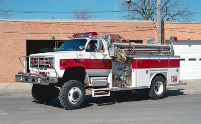 CHATHAM  ENGINE 3   GMC 4X4 - E-ONE