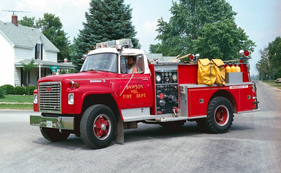 DAWSON  ENGINE 2  IHC LOADSTAR - PIERCE   X-SPRINGFIELD FD