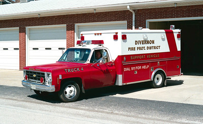 DIVERNON  SUPPORT UNIT 4