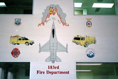 USAF 183rd  WALL LOGO