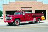 PLEASANT PLAINS  TANKER  FORD F - FIRE FIGHTER