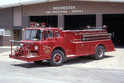 ROCHESTER  ENGINE 2   1970 FORD C - TOWERS  750-750   #1389