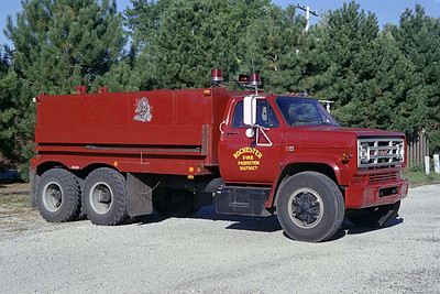 ROCHESTER  TANKER 2    1984 GMC - TROTTERS  0-3000