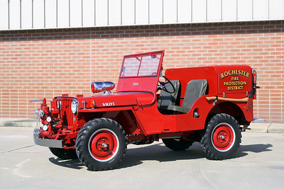 ROCHESTER  WILLYS 1    JEEP    BILL FRICKER PHOTO