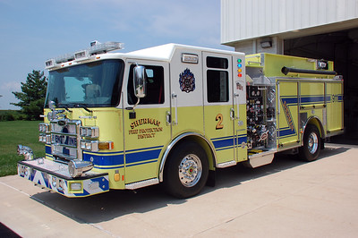 SHERMAN  ENGINE 2  2018 PIERCE ENFORCER   2000-750      DAVID HORNACEK PHOTO
