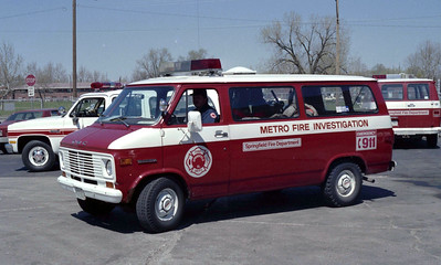 METRO FIRE INVESTIGATION VAN