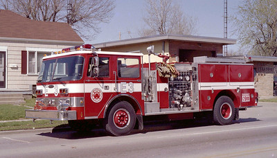 SPRINGFIELD  ENGINE 3  PIERCE ARROW