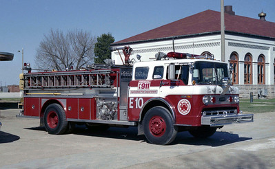 SPRINGFIELD  ENGINE 10  FORD C8000 - E-ONE