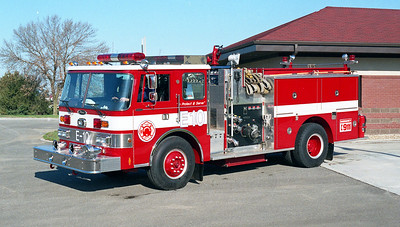 SPRINGFIELD  ENGINE 10  PIERCE DASH