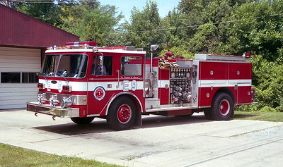 SPRINGFIELD  ENGINE 9  PIERCE ARROW