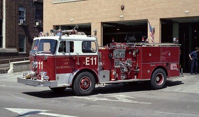 SPRINGFIELD  ENGINE 11  SEAGRAVE