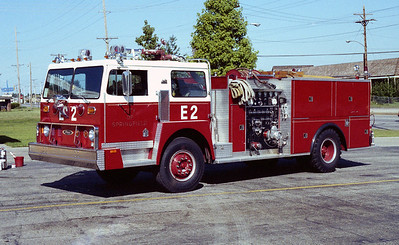 SPRINGFIELD  ENGINE 2  HENDRICKSON 1871 - PIERCE