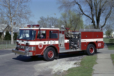 SPRINGFIELD  ENGINE 4  PIERCE ARROW