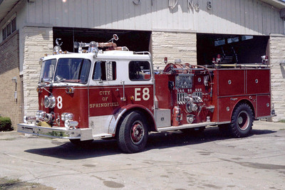 SPRINGFIELD  ENGINE 8  SEAGRAVE