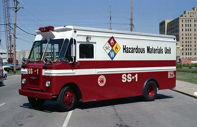 SPRINGFIELD FD  SS-1  HAZMAT
