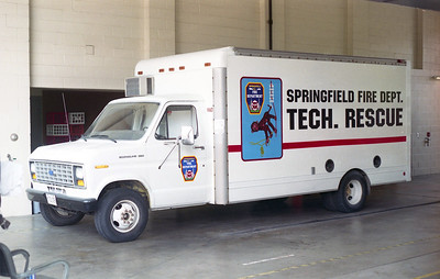 SPRINGFIELD TECH RESCUE UNIT  FORD E350 -