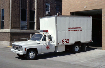 SPRINGFIELD FD  SS2  HAZMAT DECONTAMINATION UNIT