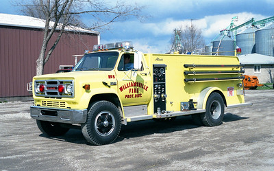 WILLIAMSVILLE  TANKER 5   GMC - ALEXIS