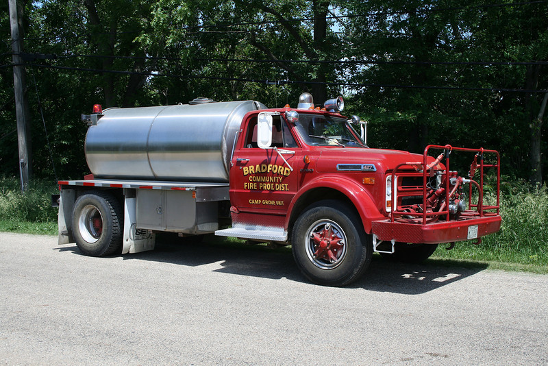 BRADFORD TANKER @ CAMP GROVE STATION