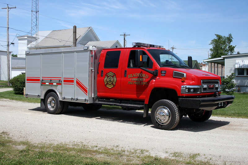 BRADFORD RESCUE CHEVY C4500