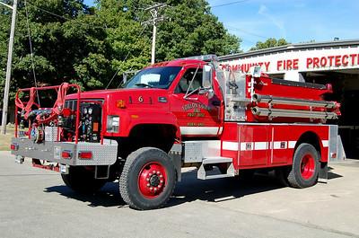 TOULON COMMUNITY FPD  ENGINE 6  CHEVY 7500 4X4 - ALEXIS   #1650