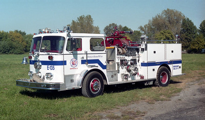 CHURCH ROAD  ENGINE 135  SEAGRAVE BLUE SRIPE