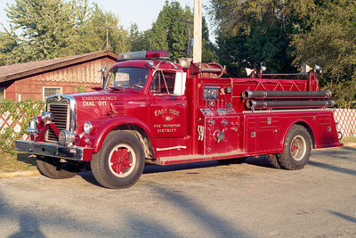 EAST SIDE   ENGINE 406  1966 IHC - TOWERS  1000-750   #1327