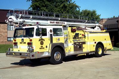 EAST SIDE  ENGINE 409  1985 HENDRICKSON 1871 - TOWERS - REDI TOWER  1000-500-55'   #1805
