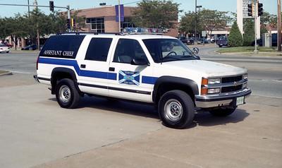 FAIRVIEW FD  CAR 25  1995  CHEVY 2500 4X4 SUBURBAN