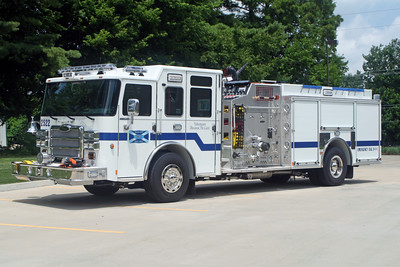 Fairview Heights Engine 2522  2015 PIERCE ENFORCER  1750-500-25-25   #28583   JOHN FIJAL PHOTO