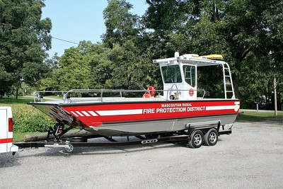 MASCOUTAH RURAL RESCUE BOAT