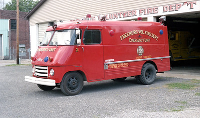 FREEBURG FPD   RESCUE 242   1963  CHEVY STEPVAN - TOWERS