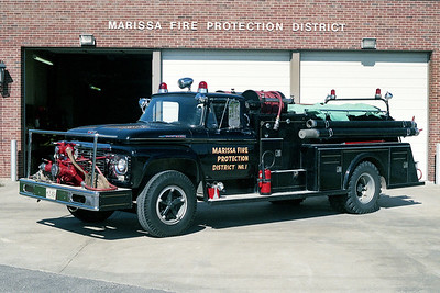 MARISSA FPD  ENGINE 351  1961  FORD F - TOWERS   750-500   #1201