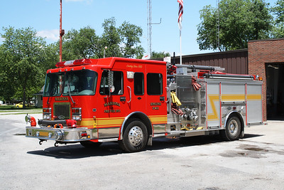MARISSA FPD  ENGINE 3411  2001  SPARTAN GLADIATOR - LUVERNE   1250-1000-30F   #11116    JOHN FIJAL PHOTO