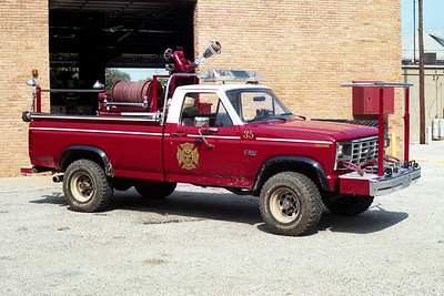MILLSTADT UNION FPD  BRUSH 35  1985  FORD F350 4X4 - TOWERS   350-250   #1839