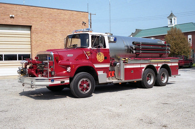 MILLSTADT UNION FPD  TANKER 34  1992  FORD L-8000 - TOWERS   1000-2500   #1963