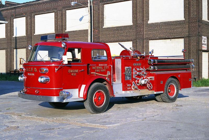 NATIONAL CITY FD  ENGINE 451  ALFCO