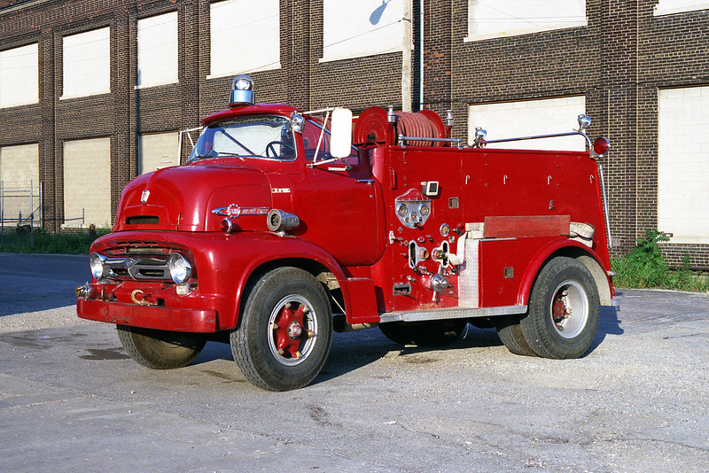 NATIONAL CITY FD  ENGINE  OPEN CAB