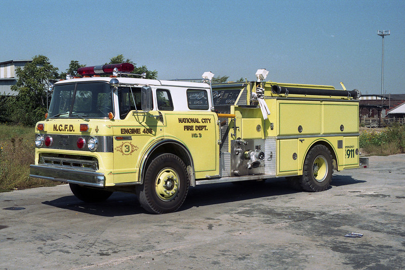 NATIONAL CITY ENGINE  FORD C8000-GRUMAN
