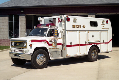 NORTHWEST FPD   RESCUE 60  1986  CHEVY C70 - MARION
