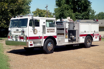 NORTHWEST FPD  ENGINE 61   HENDRICKSON - PIERCE  RED STRIPR