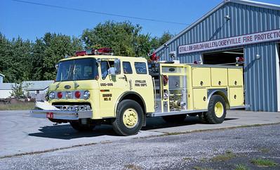 O'FALLON FD  ENGINE 2  1987  FORD C - E-ONE   1500-1000
