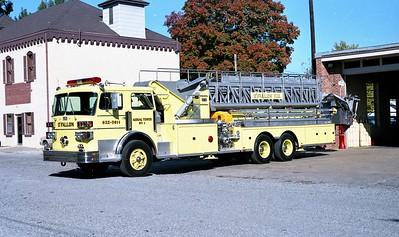 O'FALLON FD  TOWER 1  1981  SUTPHEN   1500-200-100'
