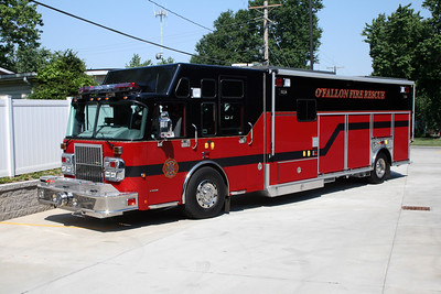 O'FALLON FD  SQUAD 4310  2007  SPARTAN GLADIATOR - EVI