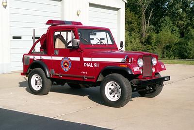 O'FALLON FD  BRUSH 6  1990  AMC JEEP   100-100