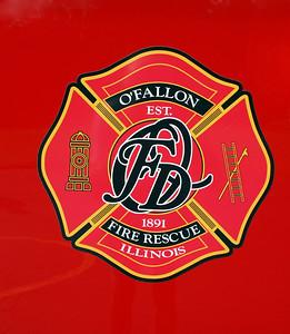 O'FALLON FD    DOOR LOGO