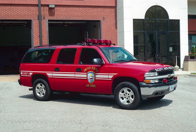SCOTT AFB  CHIEF 2  CHEVY SUBURBAN