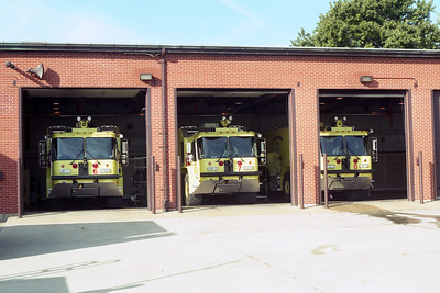 SCOTT AFB  ARFF SIDE OF STATION 1